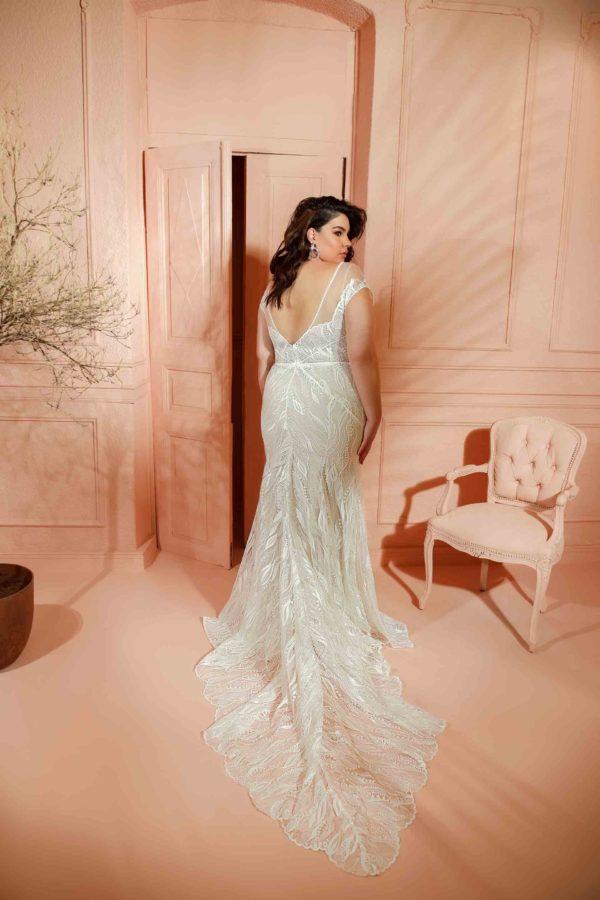 RISH Bridal Bella wedding gown at Love and Lace Bridal salon in Irvine, CA