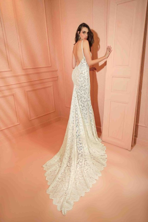 RISH Bridal Blaire wedding gown at Love and Lace Bridal salon in Irvine, CA